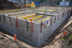 cellar construction side